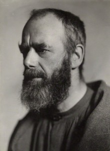 NPG x1862; Eric Gill by Howard Coster