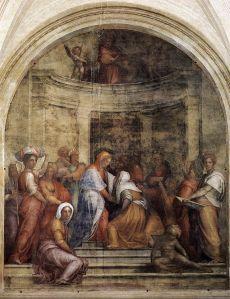 640px-Jacopo_Pontormo_-_Visitation_-_WGA18074
