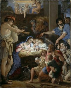 Domenichino_(Domenico_Zampieri),_The_Adoration_of_the_Shepherds,_c._1607-10,_Oil_on_canvas,_143_x_115cm,_National_Gallery_of_Scotland